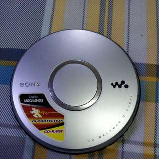 SONY D-EJ011 CD-R/RW CD WALKAN 新净播放機