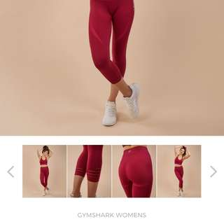 Gymshark Seamless Beet tights Size S