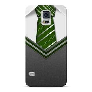 Slytherin Tie Samsung Galaxy S5 Custom Hard Case