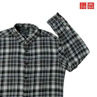 Baju Kemeja Flanel Uniqlo (Second Original)