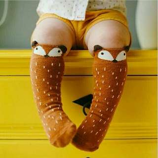 1 Pair Lovely Cute Cartoon Baby Socks