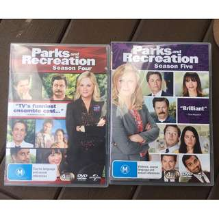 Parks and Recreation Seasons 4 and 5 DVDs