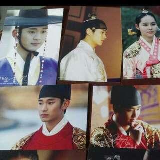 全新韓國明星相片全套$30
