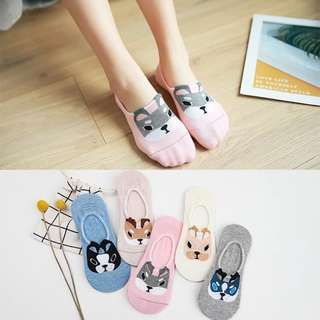 Adorable anti skid socks