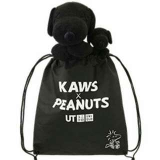 WITH BAG Snoopy Kaws Uniqlo