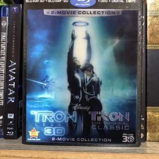 Tron legacy + Classic 4 disc with holographic sleeves
