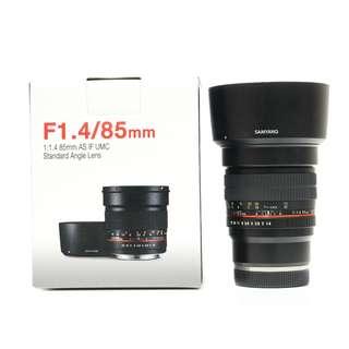Samyang 85mm F1.4 AS IF UMC Sony E-Mount