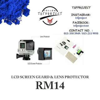 Screen Protector Gopro 3+/4