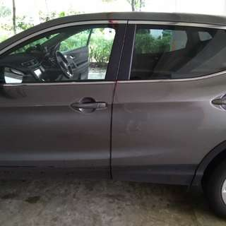 Nissan Qashqai invisible car door bumper protection