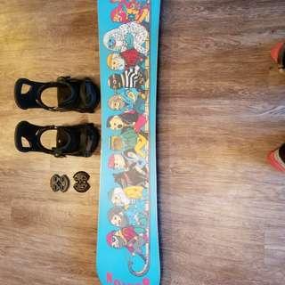 New Burton Snowboard and Bindings