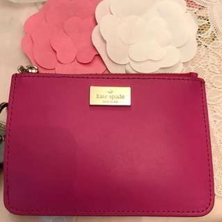 Kate Spade coincase + cardholder with key ring