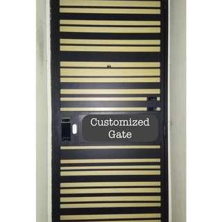 Get your Own Design of the Gate + suitable Digital Door Locks
