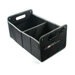 🆕! M Sports powered by BMW Motorsports rear boot organizer