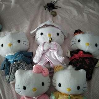 Hello Kitty Pokemon Plush Toys