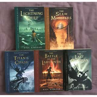 Percy Jackson and the Olympians Series (5 books)