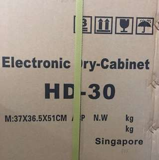 Brand New iCabi 30L Electronic Dry-Cabinet HD-30 (sealed)