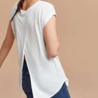 Aritzia Wilfred Open Back Shirt (XS)