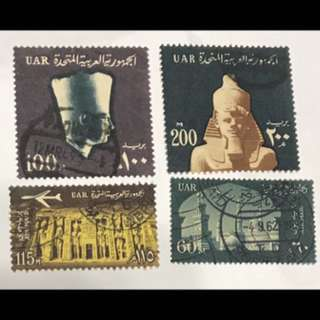 Egypt Early stamps 4v