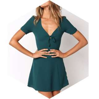 Duke Dress - Green
