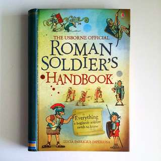 The Usborne Official Roman Soldier's Handbook by Sam Taplin & Ian McNee (Children Non-Fiction)