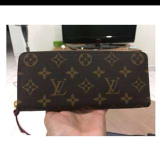 Louis Vuitton Clemence Wallet in Fuchsia Monogram used like new!