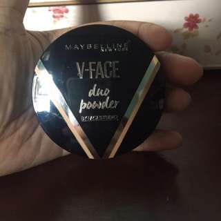 V-Face Duo Powder Maybelline