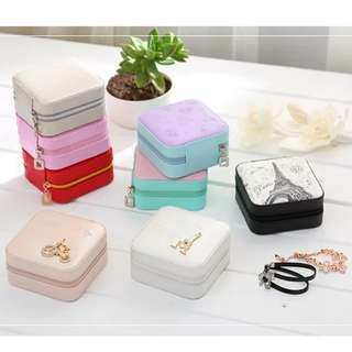 <P.O> Jewellery/Watches Portable Pouch Travel Organiser