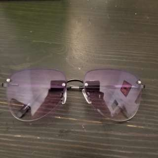 Aviator purple tinted sunglasses