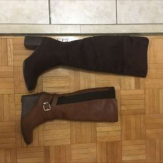 Tall Boots + Thigh High Boots Size 6