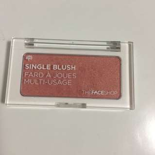 The Face Shop single blush #OR03