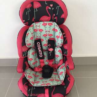 Cosatto Zoomi Flamingo Car Seat