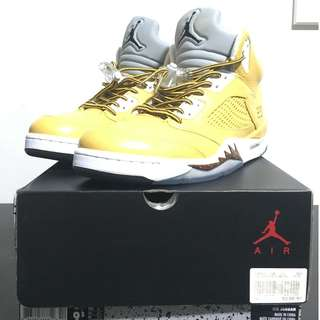 Nike Air Jordan V (Custom Timberland Colourway)