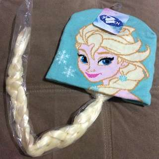 Frozen Elsa Bonnet with Braided Hair