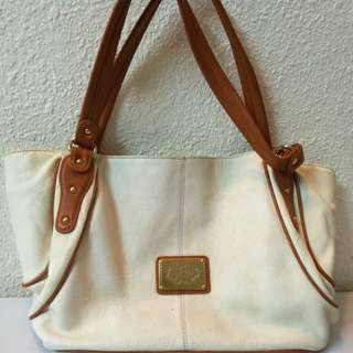 Sachs lederwaren premium leather classic elegant handbag (include postage)