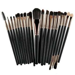 ROSALIND 20Pcs Professional Makeup Brushes Set Powder Foundation Eyeshadow Make Up Brushes Cosmetics Soft Synthetic Hair