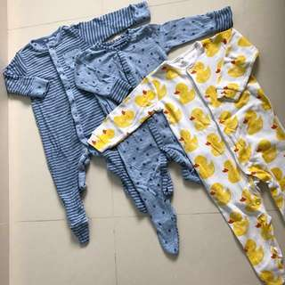 Unisex Baby Night Suit (3-6, 6-9 months old)