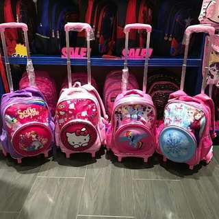 Kids Trolley Bag for Girls