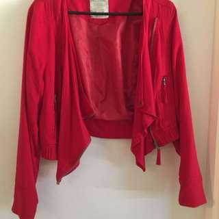 NEW RED JACKET