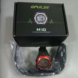Gpulse heart rate monitor watch smart bnib