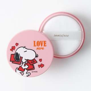 innisfree X snoopy no sebum mineral powder 5g