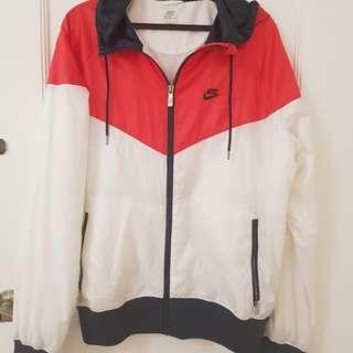 Nike Windrunner jacket with hood