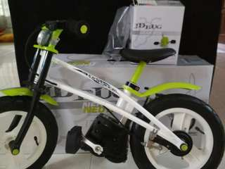 JD Bug balance bike with pedal