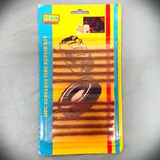 Worm for tyre repair 10 pcs