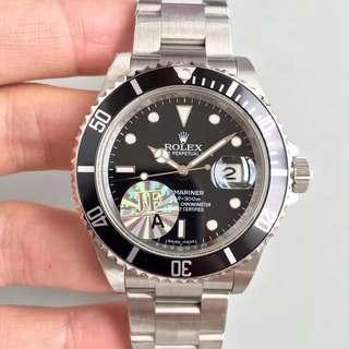 面交 比錢  勞力士 Rolex  16610LN 16610 舊款 黑面 陶瓷圈 40mm 藍寶石 水晶玻璃