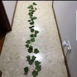 Artificial Grape Vine Leaves Wedding Decor