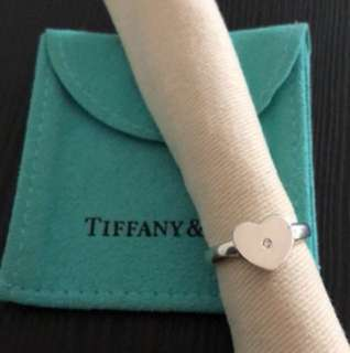 Tiffany & Co Modern Heart silver ring