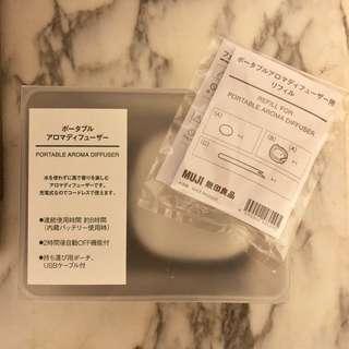 MUJI無印良品portable aroma diffuser連refill
