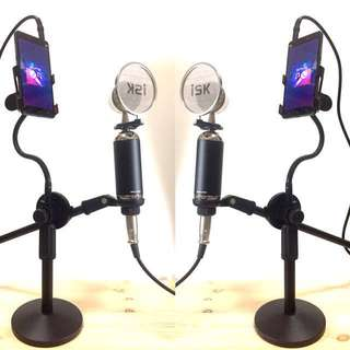 Condenser Microphone for Smule App