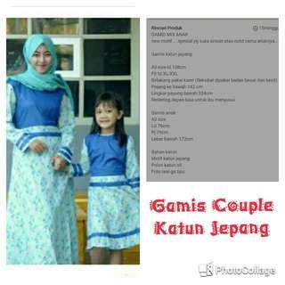 Gamis Couple Ibu& Anak