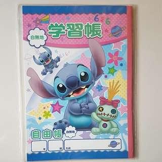 [Juniorcloset] 🆕 Stitch and Scrump notebook (from Japan)